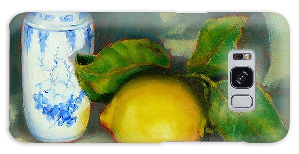 Chinese Pot And Lemon Galaxy Case