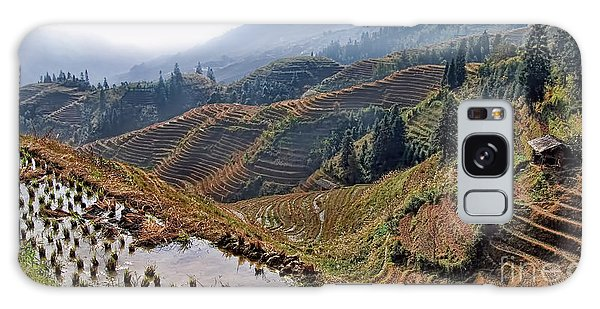 Chinese Rice Terraces Galaxy Case