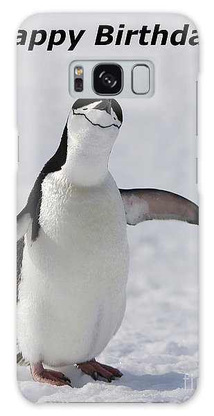 Chinstrap Penguin Galaxy Case