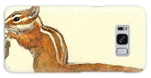 Squirrel Galaxy Case - Chipmunk by Juan  Bosco