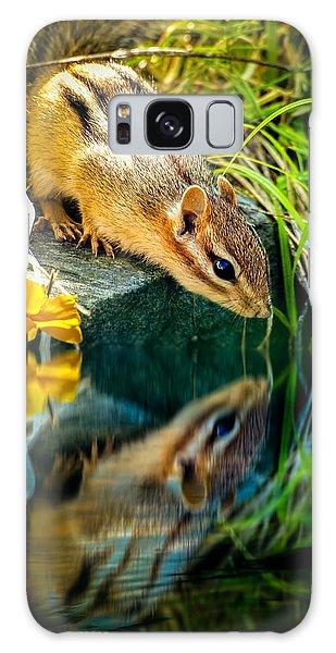 Furry Galaxy Case - Chipmunk Reflection by Bob Orsillo
