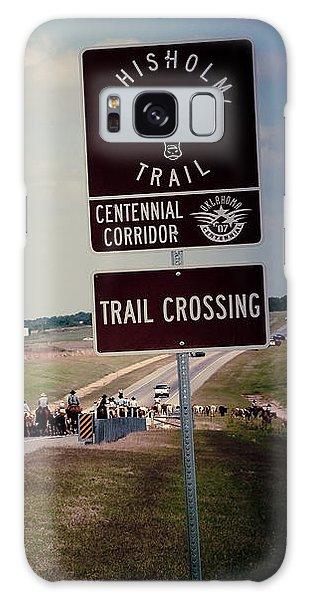 Chisholm Trail Centennial Cattle Drive Galaxy Case