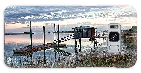 Chisolm Island Docks Galaxy Case