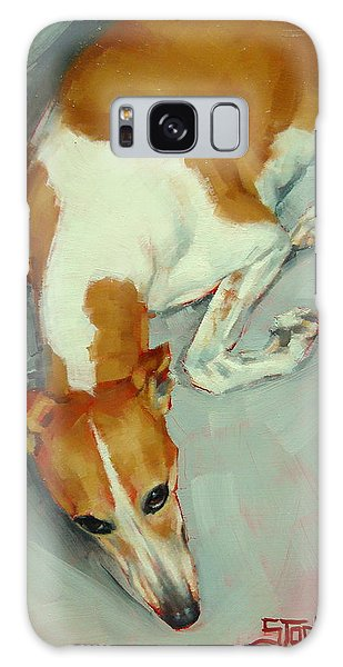 Chloe The Whippet Galaxy Case
