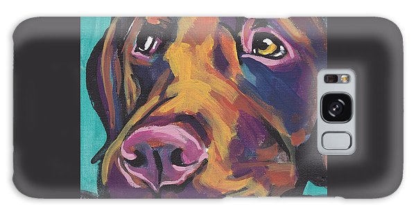 Chocolate Lab Galaxy Case - Choco Lab Love by Lea S