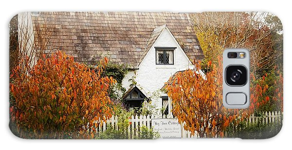 Chocolate Box Cottage Galaxy Case by Therese Alcorn