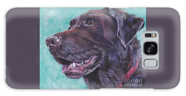 Chocolate Lab Galaxy Case - Chocolate Lab by Lee Ann Shepard