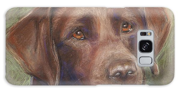 Chocolate Labrador Galaxy Case by Sciandra