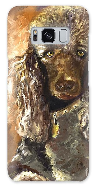 Chocolate Poodle Galaxy Case
