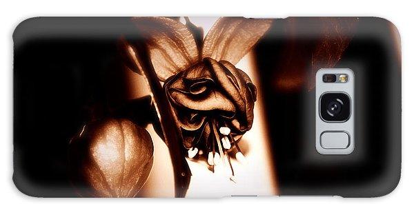 Chocolate Silk Fuchsia Galaxy Case by Jeanette C Landstrom