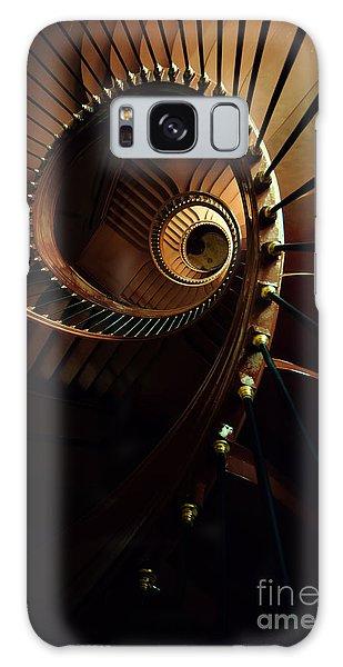 Chocolate Spirals Galaxy Case