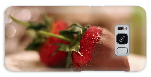 Chocolate Strawberries Galaxy Case