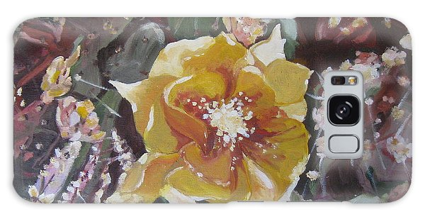 Cholla Flowers Galaxy Case by Julie Todd-Cundiff