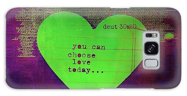 Choose Love Galaxy Case