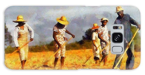 Chopping Cotton Galaxy Case by Kai Saarto