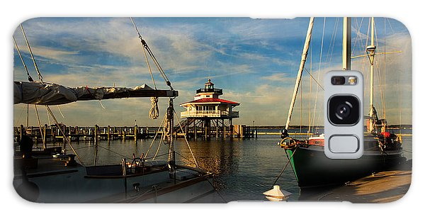 Choptank Lighthouse Galaxy Case