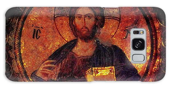 Chora Christ Pantocrator Galaxy Case