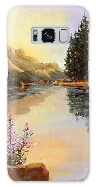 Chost Island In Morning Colors Galaxy Case