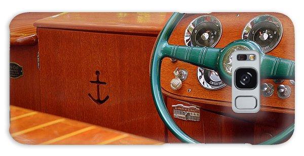 Motor Yacht Galaxy Case - Chris Craft Cockpit by Michelle Calkins