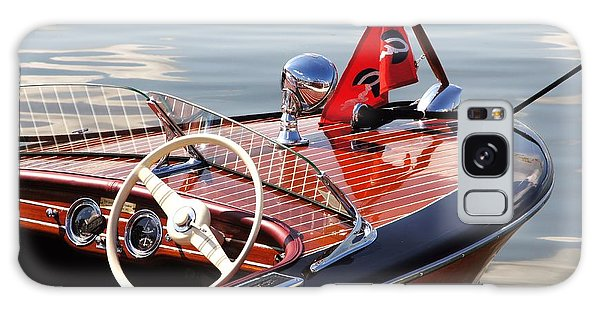 Powerboat Galaxy Case - Chris Craft Deluxe Runabout by Neil Zimmerman