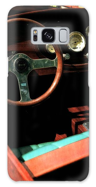 Motor Yacht Galaxy Case - Chris Craft Interior With Gauges by Michelle Calkins