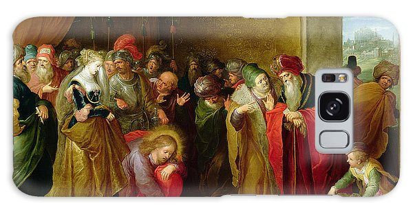 Turban Galaxy Case - Christ And The Woman Taken In Adultery by Frans II the Younger Francken
