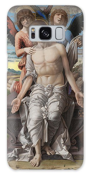 Pieta Galaxy Case - Christ As The Suffering Redeeme4 by Andrea Mantegna