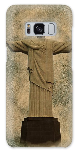 Christ The Redeemer Brazil Galaxy Case