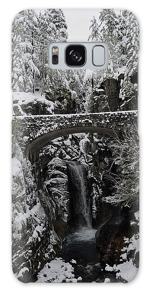 Christine Falls In The Winter Galaxy Case by Tikvah's Hope