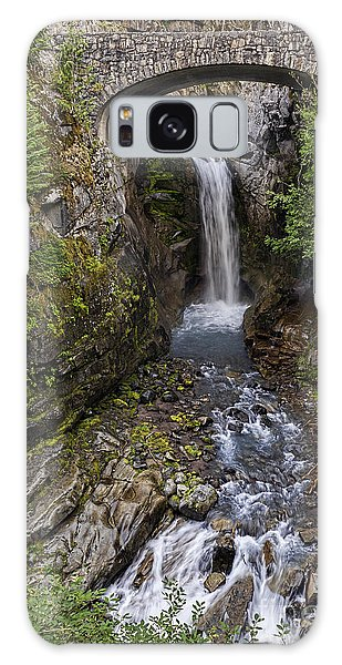Christine Falls Galaxy Case by Sharon Seaward