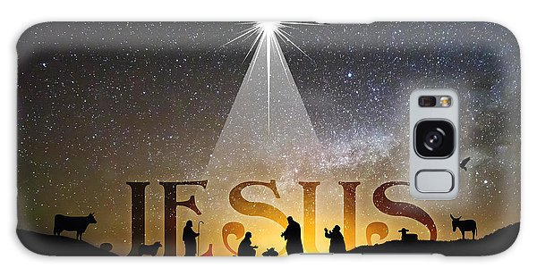 Jesus Our Hope Savior And King Galaxy Case