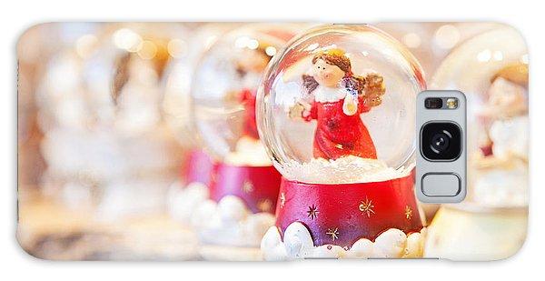 Christmas Angel Snow Globe  Galaxy Case