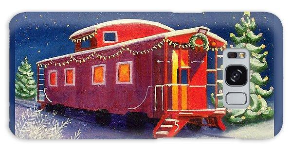 Christmas Caboose Galaxy Case