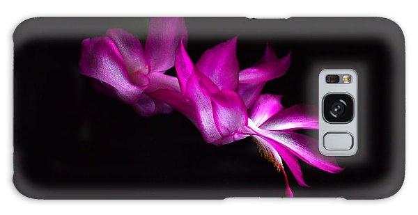 Christmas Cactus Blossom Galaxy Case