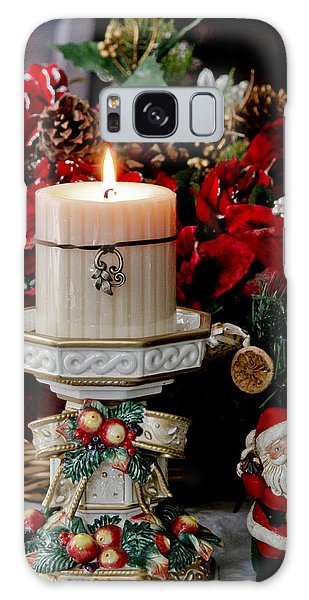 Christmas Candle Galaxy Case by Ivete Basso Photography