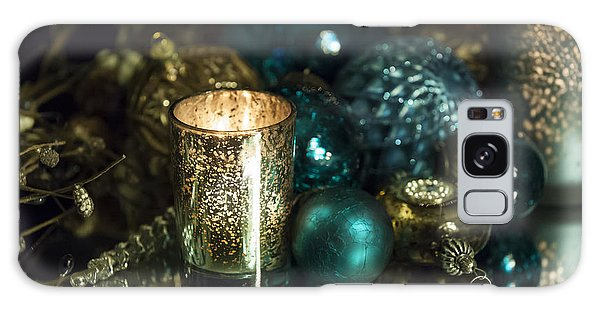 Christmas Candles Galaxy Case