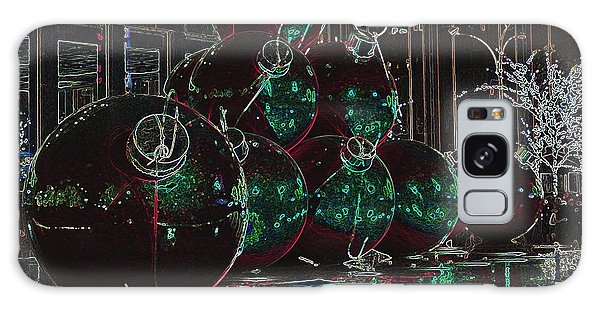 Christmas Card Galaxy Case by Laurinda Bowling