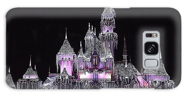 Christmas Castle Night Galaxy Case by Nadalyn Larsen