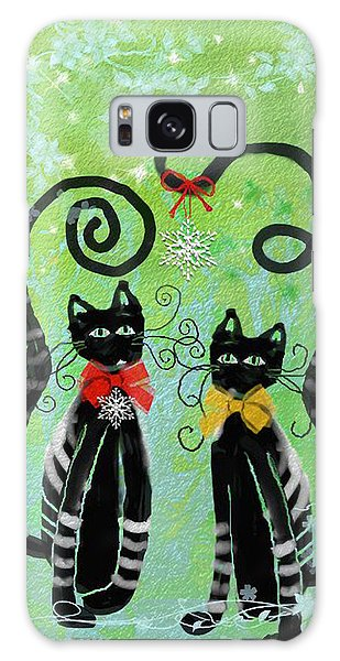 Christmas Cats Galaxy Case
