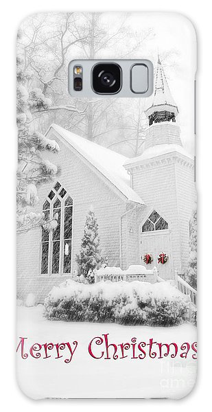 Historic Church Oella Maryland - Christmas Card Galaxy Case
