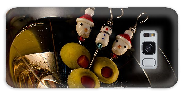 Christmas Crowded Martini Galaxy Case