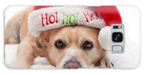 Christmas Dog Galaxy Case by Aaron Berg