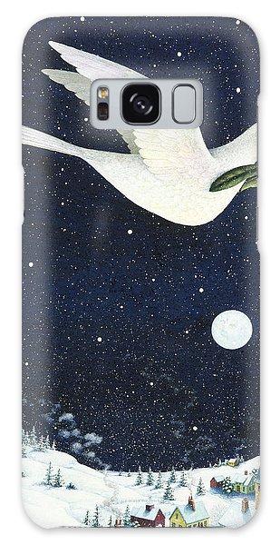 Christmas Dove Galaxy Case