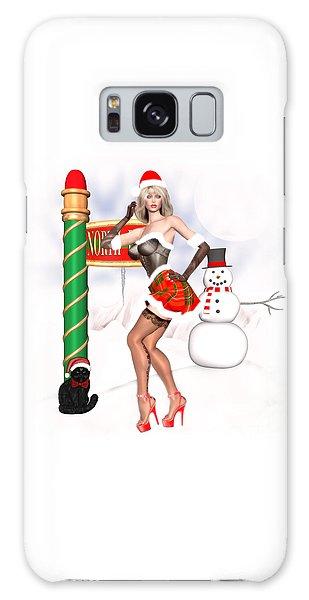 Luxmaris Galaxy Case - Christmas Elf Cleo by Renate Janssen