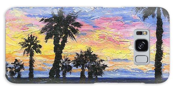Christmas Eve In Redondo Beach Galaxy Case by Jamie Frier
