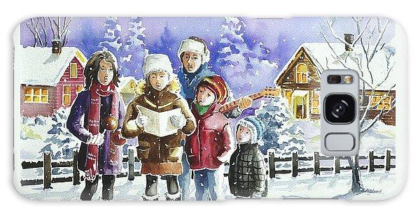 Christmas Family Caroling Galaxy Case