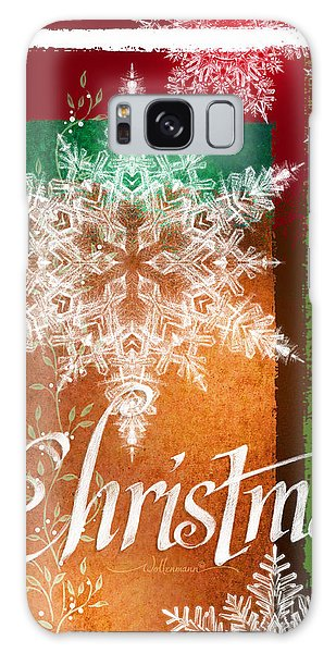 Christmas Greetings Galaxy Case