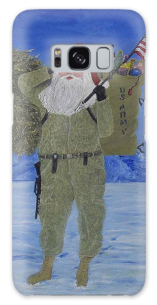 Christmas In Afghanistan  Galaxy Case