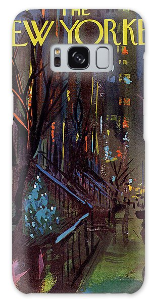 Christmas In New York Galaxy Case
