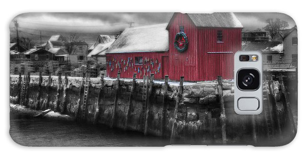 Christmas In Rockport New England Galaxy Case by Jeff Folger